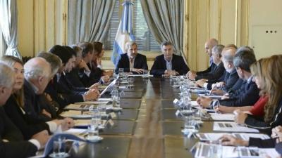 Macri recibe a los gobernadores para analizar las reformas