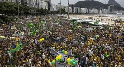 Dilma sufrió las mayores protestas en democracia
