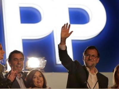 Ganó el PP de Rajoy, pero necesitará conformar alianzas para gobernar