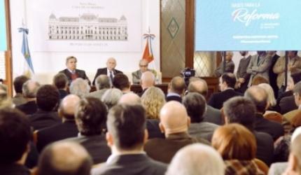 Lifschitz oficializó su propuesta de reforma de la Constitución provincial